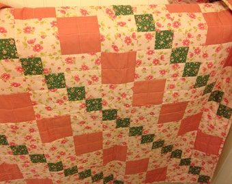 Pink Reversible Quilt