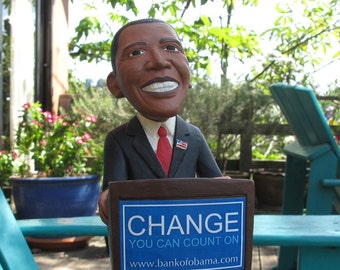 Barak Obama Bank - Presidential Memorabilia.
