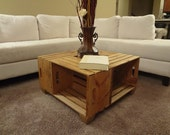 Shabby Chic Crate Coffee Table -- ginabug22