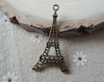 15pcs 44x24mm Antique Bronze the Eiffel Tower charm( A279)
