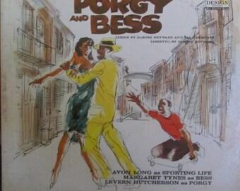 Porgy and Bess Gershwin Soundtrack Avon Long Margaret Tynes Levern Hutcherson Vinyl LP Record