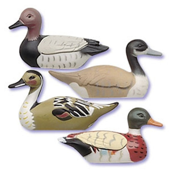 Duck Hunting Cake Decorations : 4 Mallard Ducks Cake Decor Toppers