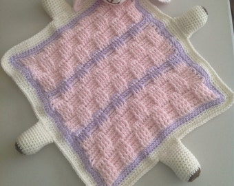 Baby's Tag Along Crochet Blankie