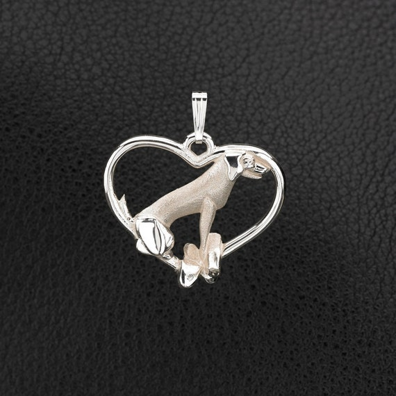 Sterling silver labrador retriever pendant by for Just my style personalized jewelry studio