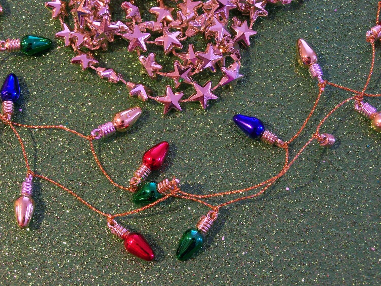 Mini Christmas Tree Garlands Craft Supply