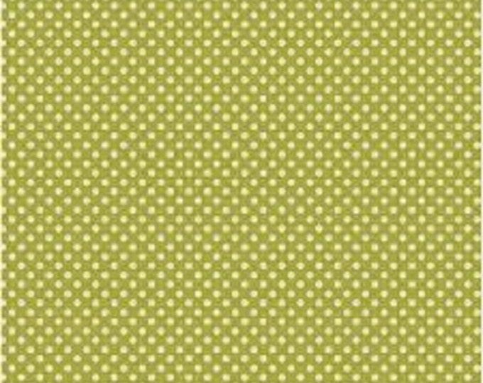 """TILDA - Dottie - Grass Green - 1/2 yd x 54"""""""