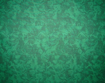 Frosty Green Mottled Quilting Fabric