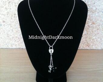 """Necklace """"Nana padlock & Key"""""""