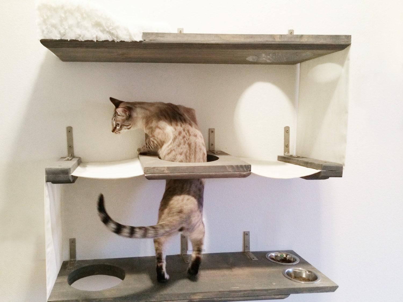 3 Level Cat Bunker Cat Hammock Shelves Free Us Shipping