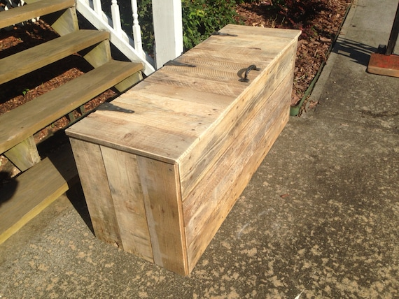 Extra Large Hope Chest | Wooden Trunk | Rustic Chest | Pallet Chest
