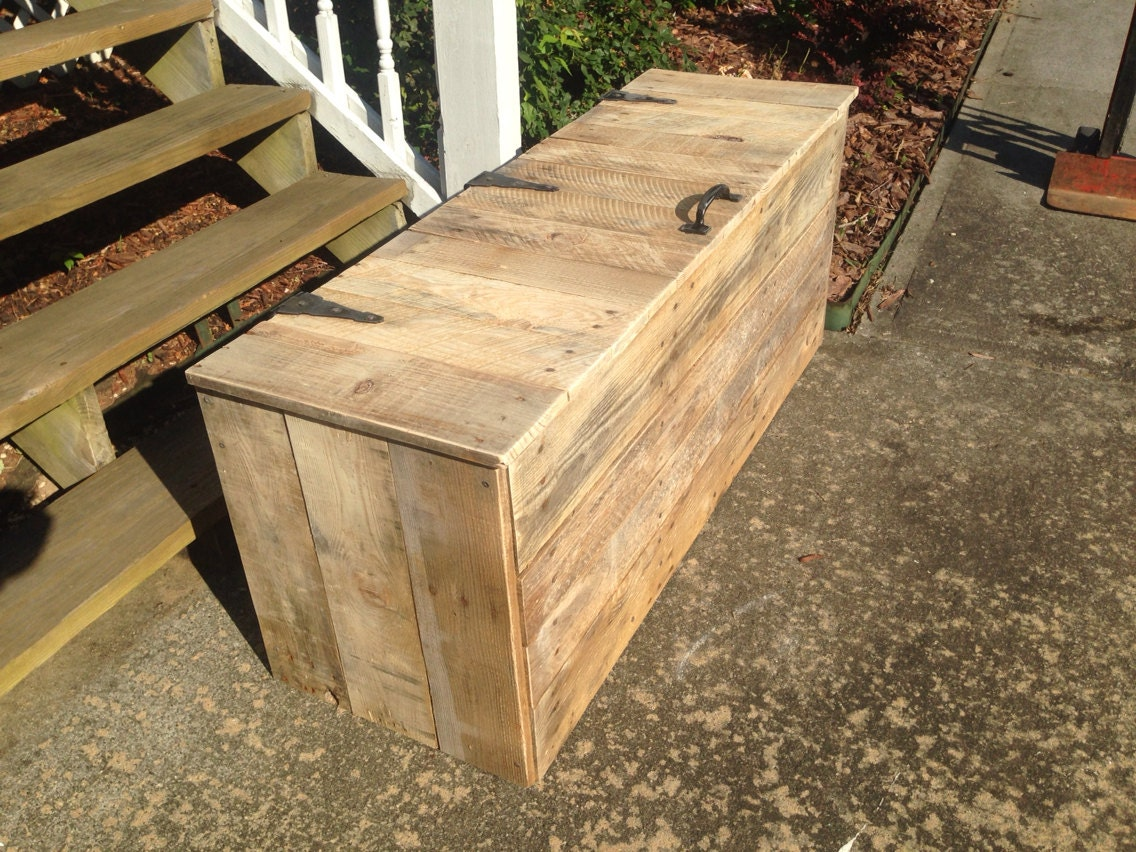 Extra Large Hope Chest Wooden Trunk Rustic Chest wooden