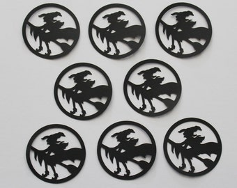 8 Witch Die Cut / Scrapbooking / Card Making / Holiday Decor / Halloween