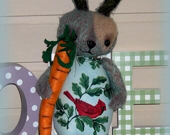 Artist Bear...Rabbit, ...Haatshie and Piep... 32cm  Unique...soooo  sweet