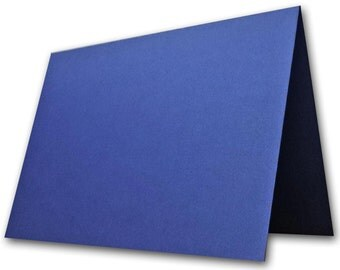 Metallic Blue Place Cards 25 pack