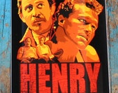 Henry Portrait of a Serial Killer Vinyl Sticker 3 in x 4 in