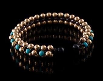 Brass cuff, brass bracelet,tribal bracelet,tribalik cuffs,tribal jewelry, (code 14)