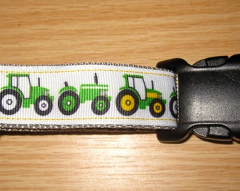 Down on the Farm - Tractor Dog Collar