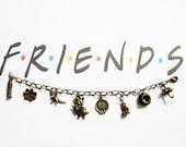 Friends TV Charm Bracelet