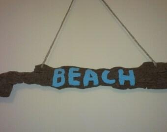 Driftwood Beach Sign
