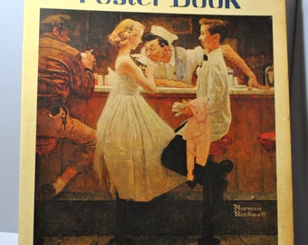 Norman Rockwell Poster Book, c1976