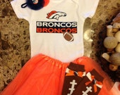 Denver Broncos complete football outfit