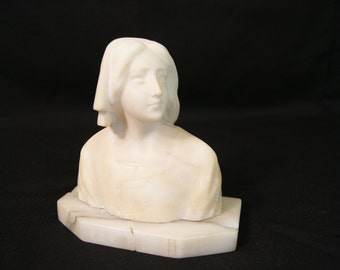 Marble Bust of Joan of Arc