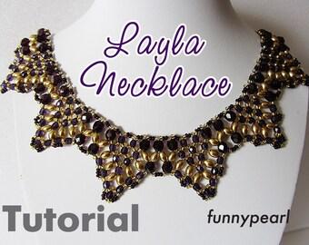 Necklace Layla. Tutorial PDF