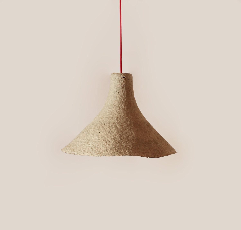 Pendant Light Rumcajs Paper Mache Lamp Lamp By Crearedesign