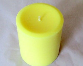 Best Friends Pillar Candle, soy wax candle, friends gift, 12 oz pillar candle, scented soy candle, decorative candle, handmade candle