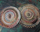 Pair of Chenille Chair Pads