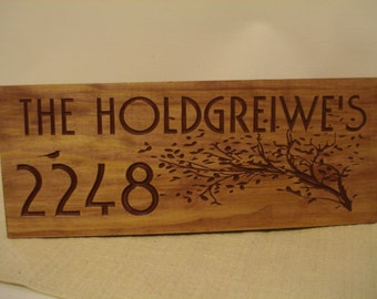 Client Gifts House Warming Signs  Welcome Signs Address Plaques Personalized Gifts Home For Sale Sold Unique Personalized Signs New Home