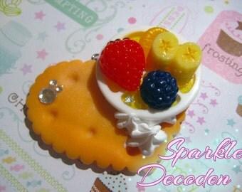 Fruity Cookie Decoden Charm