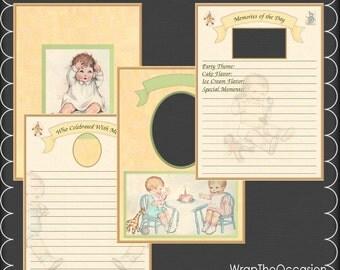 Baby's First Birthday Brag Book