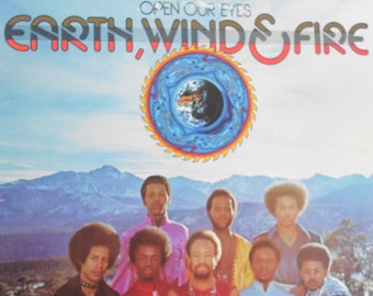 Earth, Wind and Fire - Open Our Eyes - vinyl record