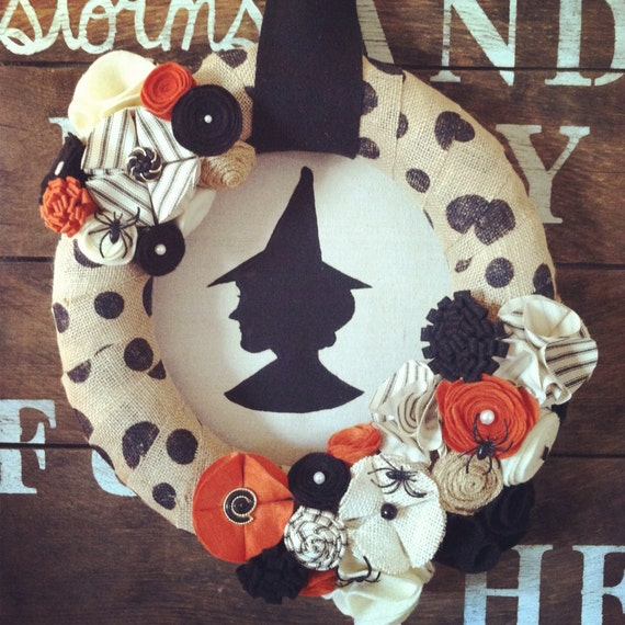 Limited Quantities Witch Wreath Wreath Halloween By