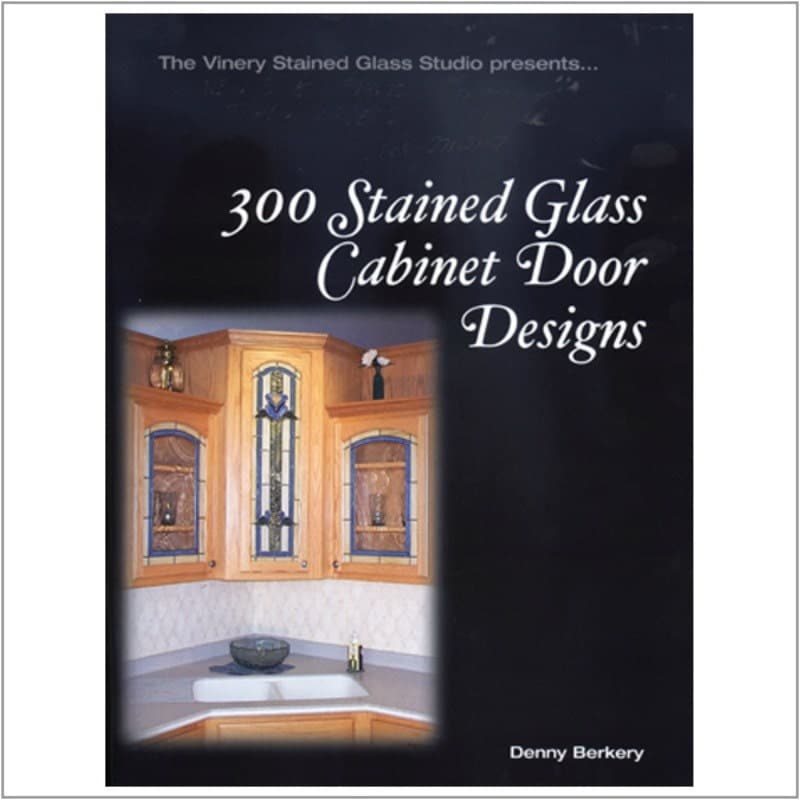 Stained Glass Kitchen Cabinet Doors Patterns: 300 Stained Glass Cabinet Door Designs Stained Glass