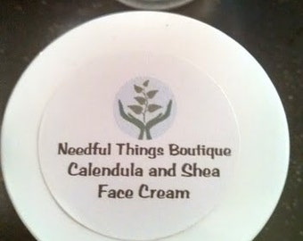 Calendula and Shea Face Cream