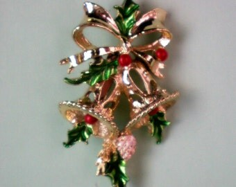 Holiday / Christmas Bells Pin by Gerry's - 2862