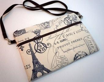 macbook 13 pro air retina cover case laptop bag opt.detach straps zip front pouch pro foam core pad CHOOSE COLOR Navy/Red Paris stamp print