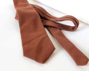 Vintage May Co. brown tie