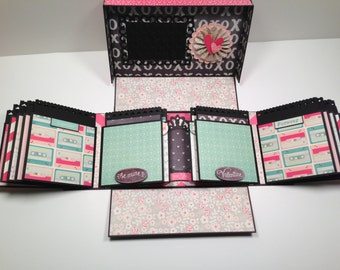 Boxed Gatefold Mini Album Pattern with Video Tutorial