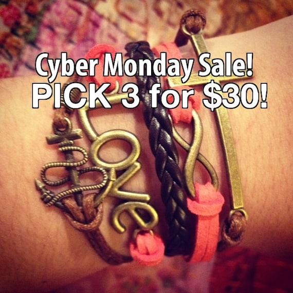 cyber monday bracelet sale etsy sale boho bracelet discount