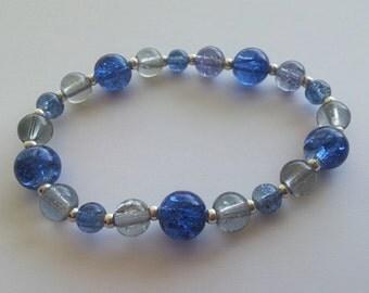 RAVENCLAW house colors stretch bracelet