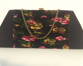FREE SHIPPING   1950 Hand Painted Kelly Bag