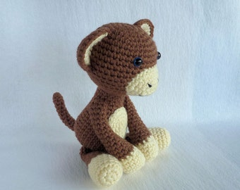 popular items for amigurumi monkey on etsy. Black Bedroom Furniture Sets. Home Design Ideas