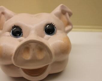 Vintage Handmade Pigs Head #M207