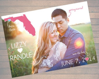 Wedding Save the Date | Custom, Printable, Digital File