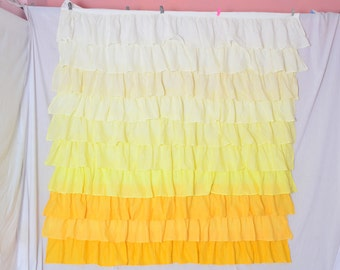Popular Items For Ruffled Curtains On Etsy