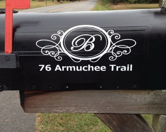 Mail box decal