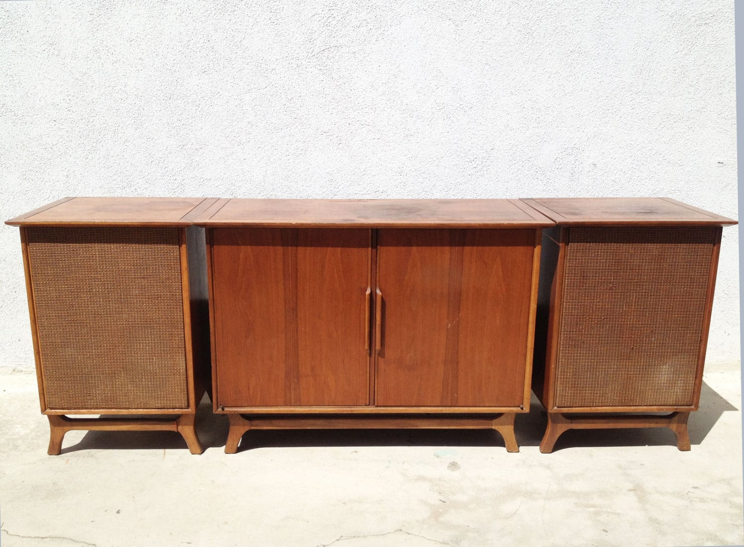 Mid Century Stereo Console Iphone Mid Century Stereo